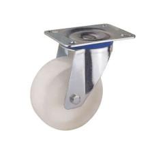Swivel Type White PP Roulette industrielle (KIXX2-W)