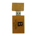 Personalizado Eco Friendly Material de madera Usb Sticks