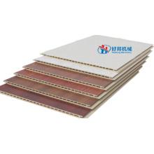 Ligne de production de panneaux muraux en PVC