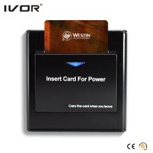 Energy Saver Key Card Netzschalter für jede Karte Kunststoffrahmen Schwarz Farbe (SK-ES2300N-B)