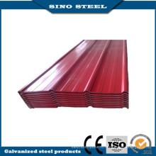 Prepainted Гальванизированный рифленый стальной лист с высоким качеством