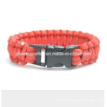 Survival Bracelet with Fire Starter Buckle