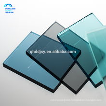 high quality 4-19mm clear picture frame float glass and polishing edging in China