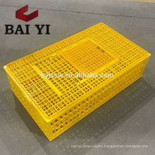 Hot Selling Plastic Chicken Moving Cage/Carrier