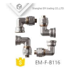 ЭМ-Ф-Б116 Латунь резьба для трубы PEX штуцер трубы локтя