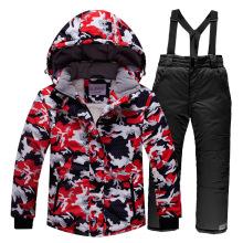 Kindermantel Ski Outfit Warm
