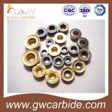 Indexable Turning Milling Carbide Inserts with CVD PVD Coating
