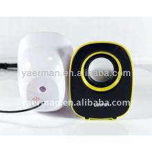 Mini altavoz, altavoz del huevo del silicón, aktif del altavoz