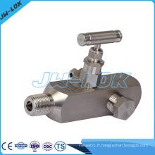 Valve de haute pression, valve à jauge