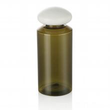 150 ml vert bouteille pour animaux de compagnie bouchon en plastique soins de la peau bouteille en plastique bouchon avec bouchon en plastique blanc emballage cosmétique vente chaude
