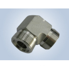 90 Degree Elbow Metric Thread Male O-Ring Face Seal Fittings Replace Parker Fittings and Eaton Fittings