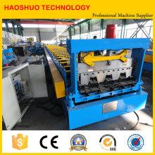 Máquina formadora de rolos de piso de metal de aço automática