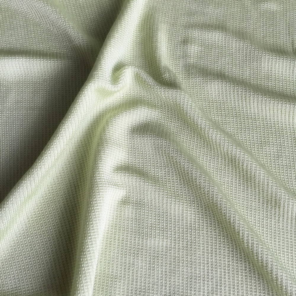 Viscose elastane rib knitted fabric double fabric