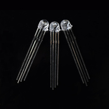 4 Pins 5mm Straw Hat RGB LED Common Anode