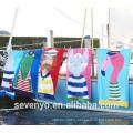 2017 fashion Art style print cool soft textile cotton Beach Towel BT-108