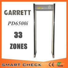 33 Zones Archway Metal Detector Door Frame Metal Detector Gate