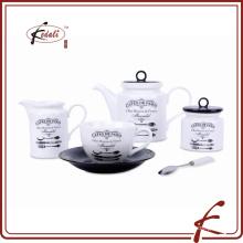 Оптовый Европейский фарфоровый чайник для дома