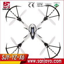 Yz Tarantula X6 2.4ghz 4ch 6-axis Ioc Fpv Rc Quadcopter con cámara - Azul / Negro