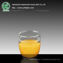 Coupe à thé en verre double mur (470ML)