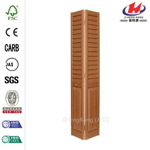 24 pulg. X 80 pulg. 3 pulg. Ladera / Panel Puerta bi-plegable de compuesto de roble dorado