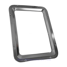 Metal Door Square Vision Window Frame