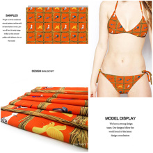 New Jersey Digital Compruebe imprimió la tela para traje de baño y ropa