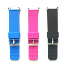 pulseira de borracha de silicone para relógio inteligente infantil