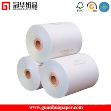ISO 3-Ply Continuous Carbonless Printing Paper in China