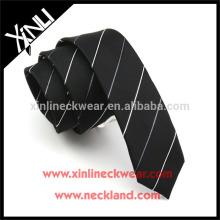 Nó perfeito 100% artesanal magro poliéster gravata China
