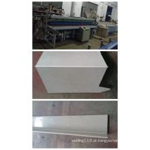 Máquina dobradeira de folha de plástico com espessura de 30 mm e comprimento de 6000 mm