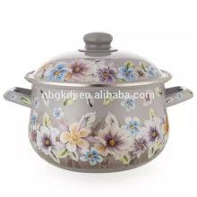 big body enamel pot soup & stock pot enamel cooking pot large cooking pot