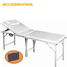 Permanent foldable adjustable facial tattoo bed