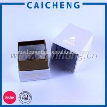 Boîtes de papier d'emballage de cosmétiques de haute qualité