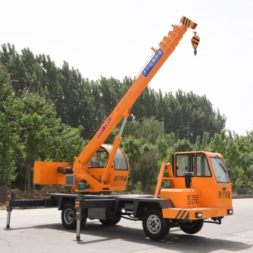 6 Ton Hydraulic Self Erecting Boom Truck Crane