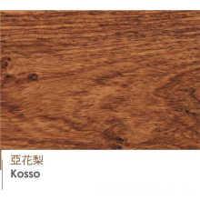 Revestimento de madeira laminado de alta qualidade de revestimento de Kosso revestimento de engenharia