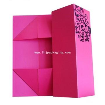 Высококачественная складная упаковочная коробка для подарочной бумаги с точечным ультрафиолетом