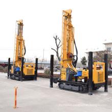 Hydraulic well drilling machine