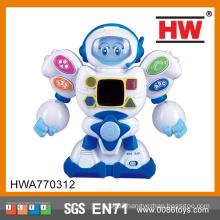 2015 New Product Interesting Kids B/O plastic robot toys