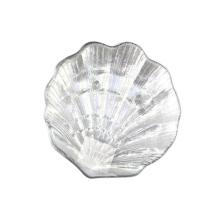 Покрытие жемчужного цвета стеклянная пластина в форме ракушки