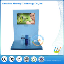 display contador cosmético com tela de 10 polegadas lcd