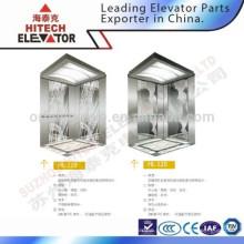 Cabine de decoração para elevador / aço inoxidável / HL-119