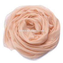 Inner Mongolia plain chiffon scarf manufacturers supply SSR0024 spring summer shade leisure ladies elegant scarf