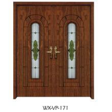 Конкурентная деревянная дверь (WX-VP-171)