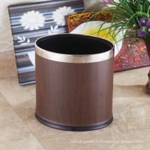 Открытая верхняя мусорная корзина из нержавеющей стали для дома (KA-10LA)