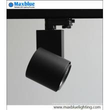 Alto CRI de buena calidad Dimmable COB LED Spot pista de iluminación