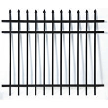 Aluminum Profile Black Fence Section