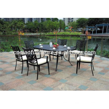 Oval Table Cast aluminum outdoor furniture for project