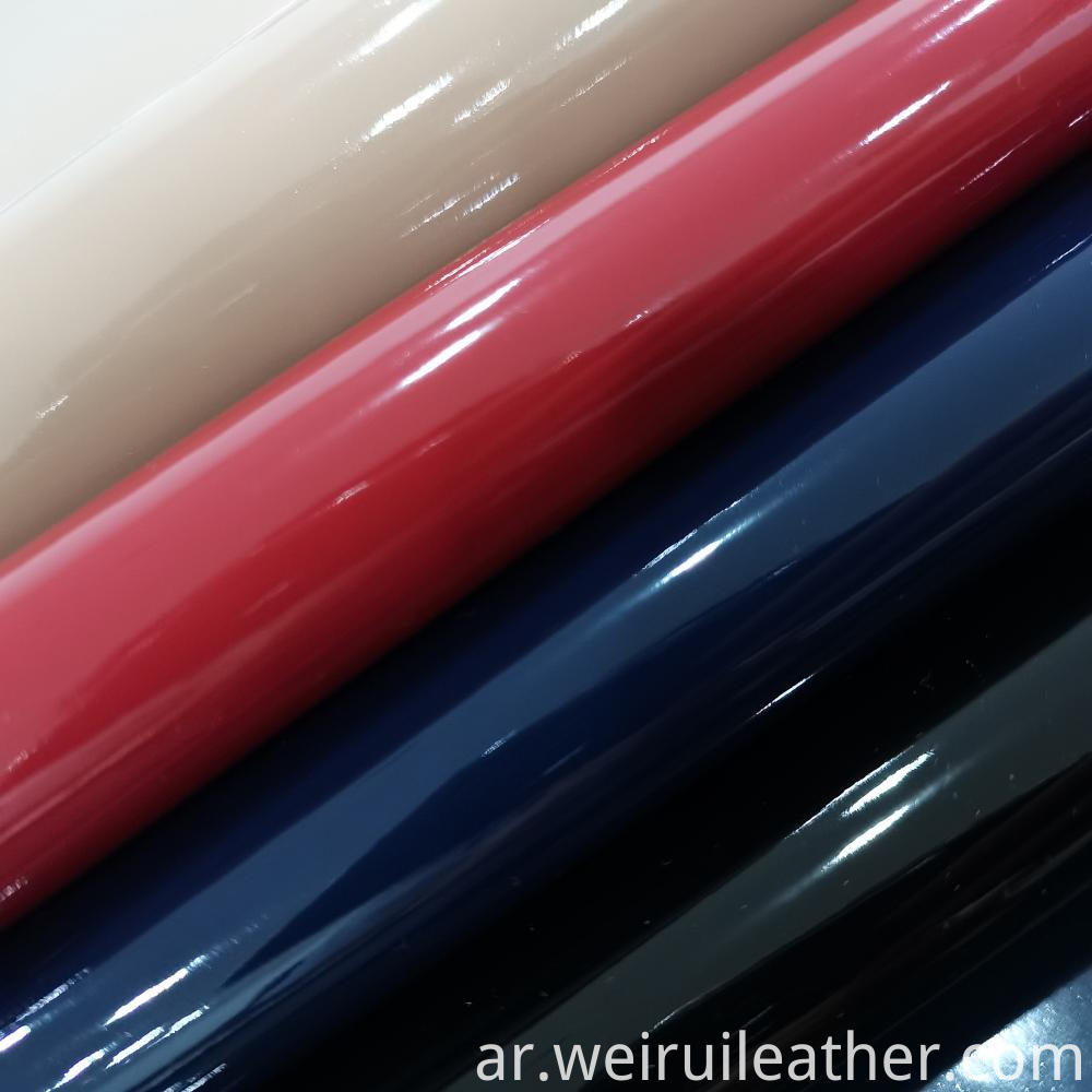 Glossy Cloth Pu Leather