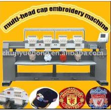 Cap / t-shirt / machine de broderie informatisée plate