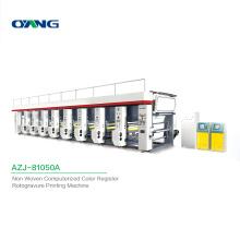 Non Woven Fabric Custom Computerized Multicolor 8 Color Rotogravure Printing Machine Price